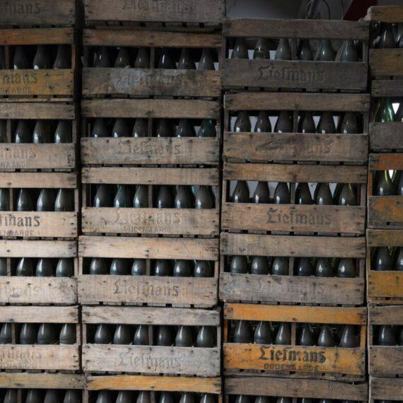 Liefmans crates